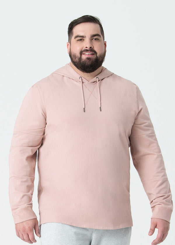 High & Mighty Lightweight SWET-Hoodie | Pearl Blush