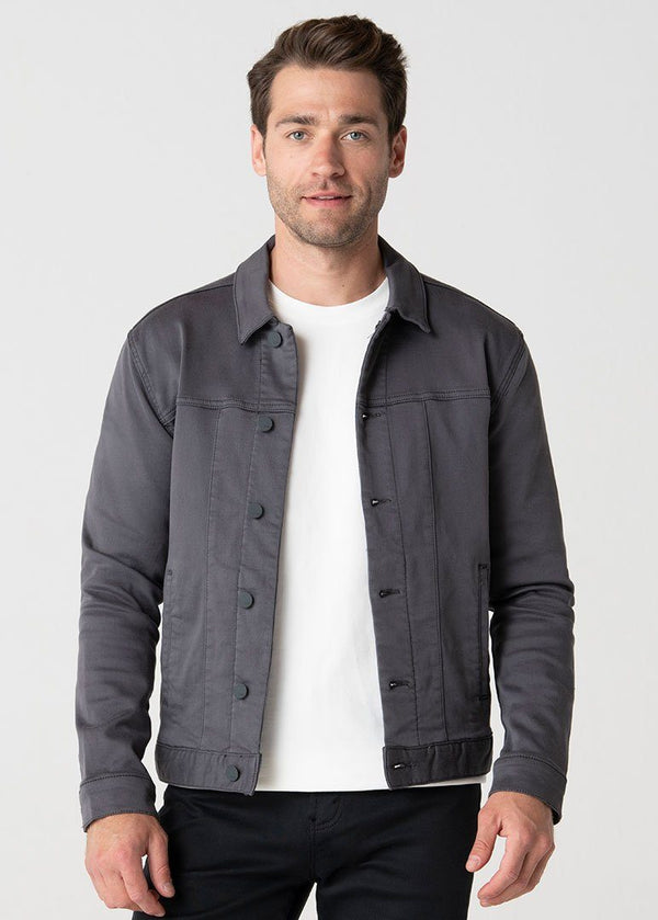 The Duo Jacket | Charcoal Grey