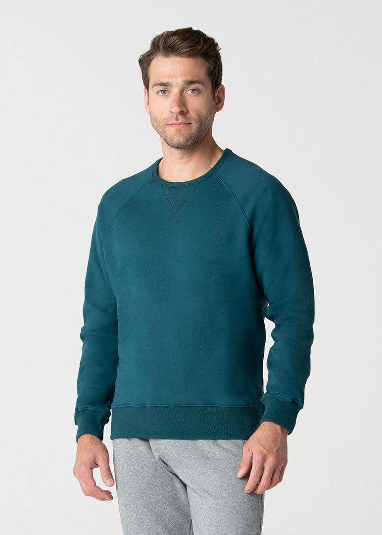 Relaxed Fit SWET-Shirt | Teal