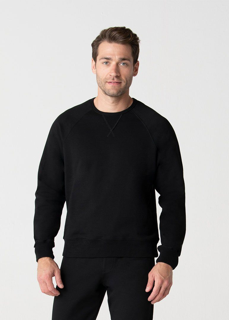 Relaxed Fit SWET-Shirt | Black
