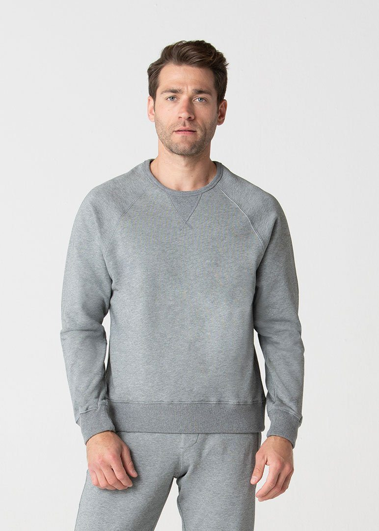 Relaxed Fit SWET-Shirt | Heather Grey