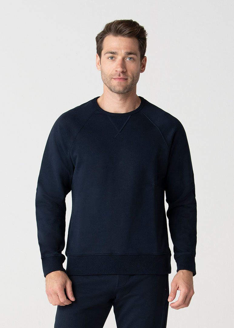 Relaxed Fit SWET-Shirt | Navy