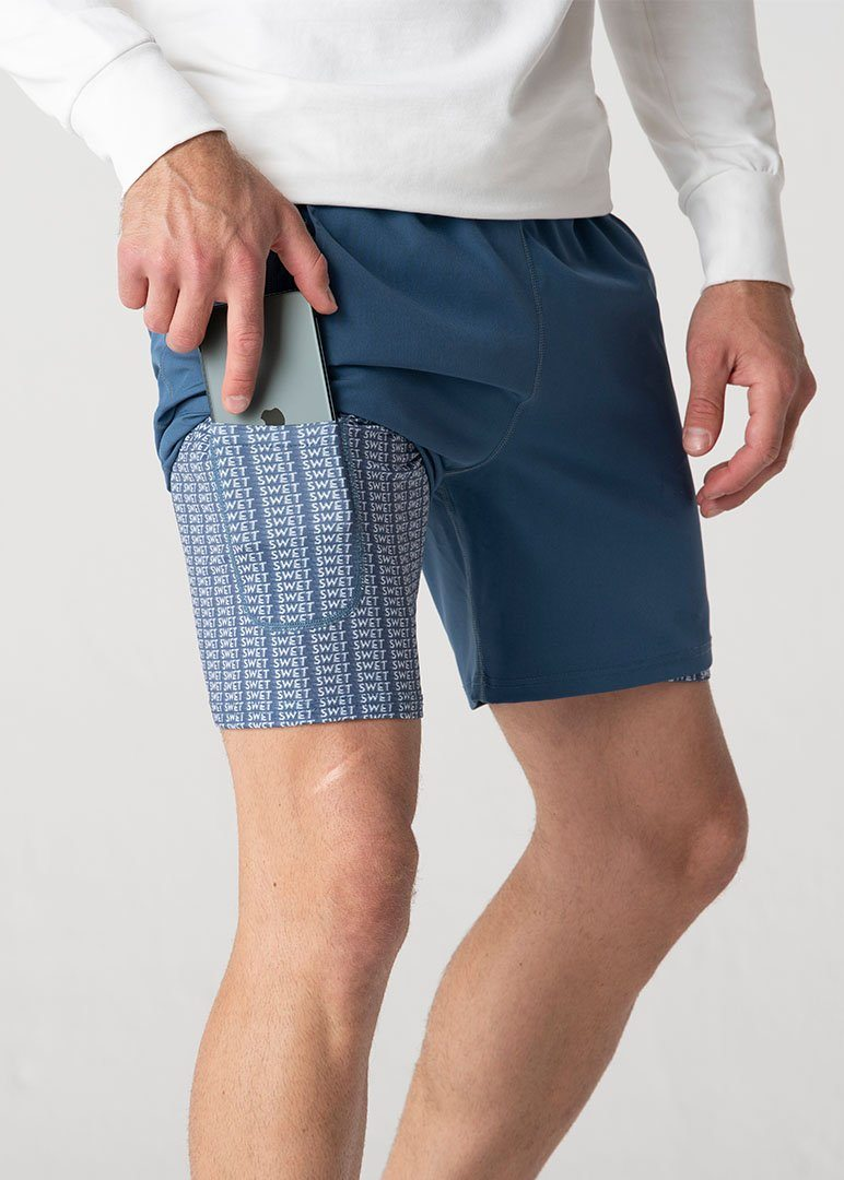 SWET Active Short | Azure