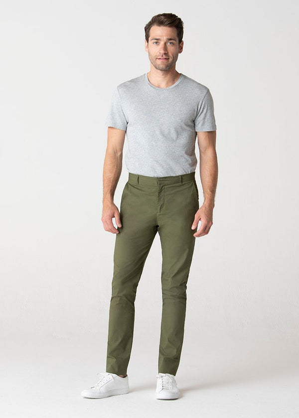 Military Officer Pants | Olive