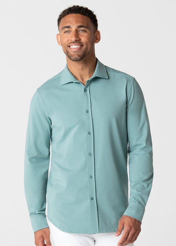 Polished Shirt | Light Green