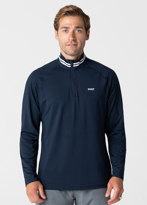 SWET Quarter Zip | Navy