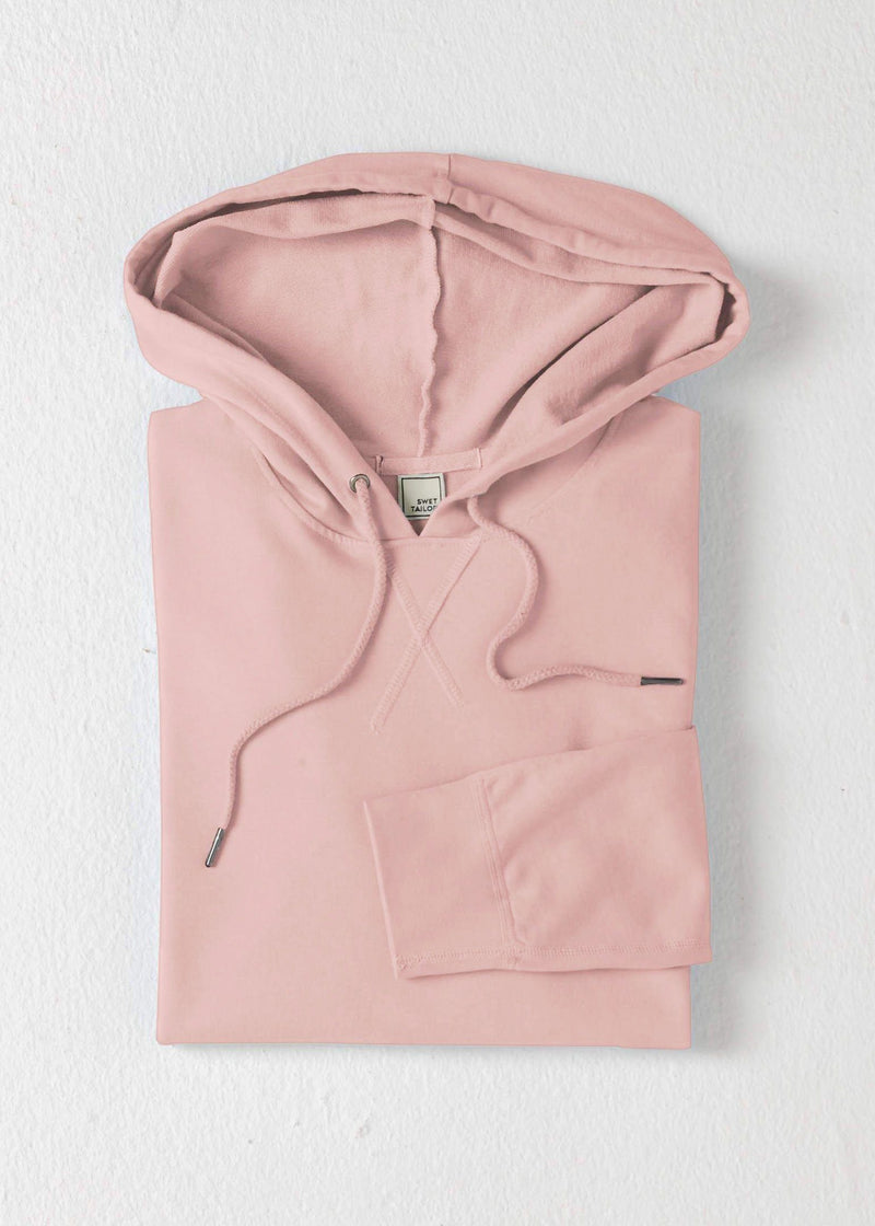 Lightweight SWET-Hoodie | Pearl Blush