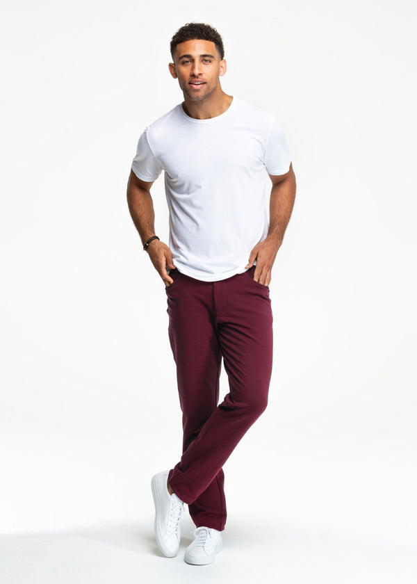 All-In Pants | Oxblood