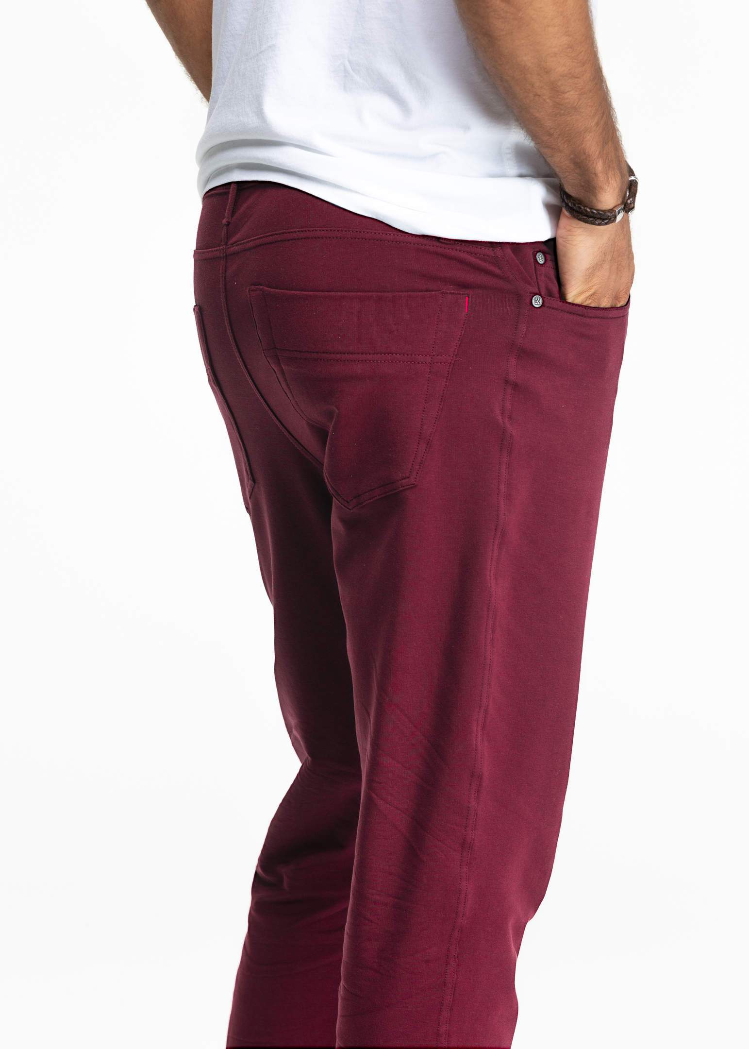 All-In Pant | Oxblood