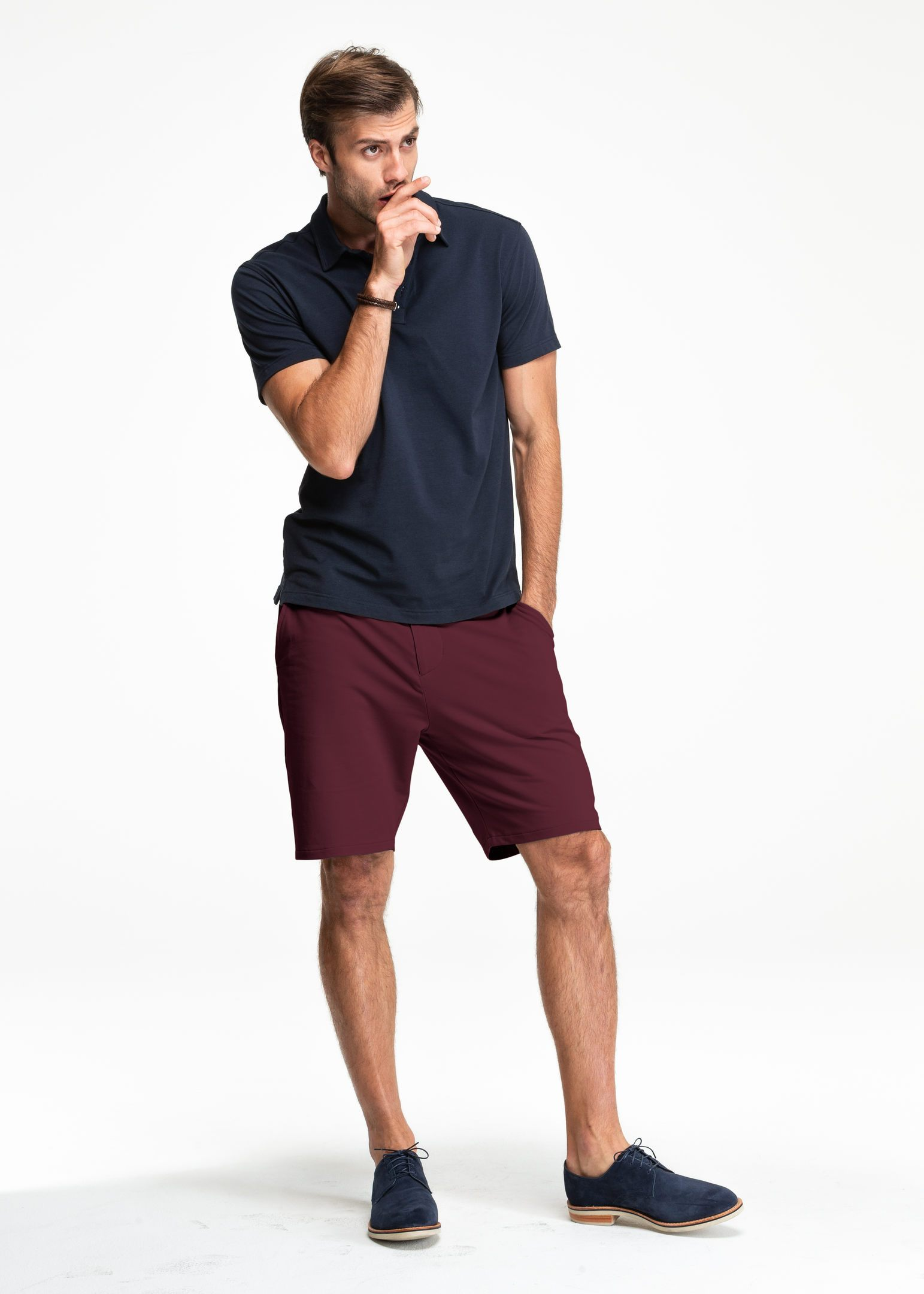 EveryDay Chino Short | Oxblood