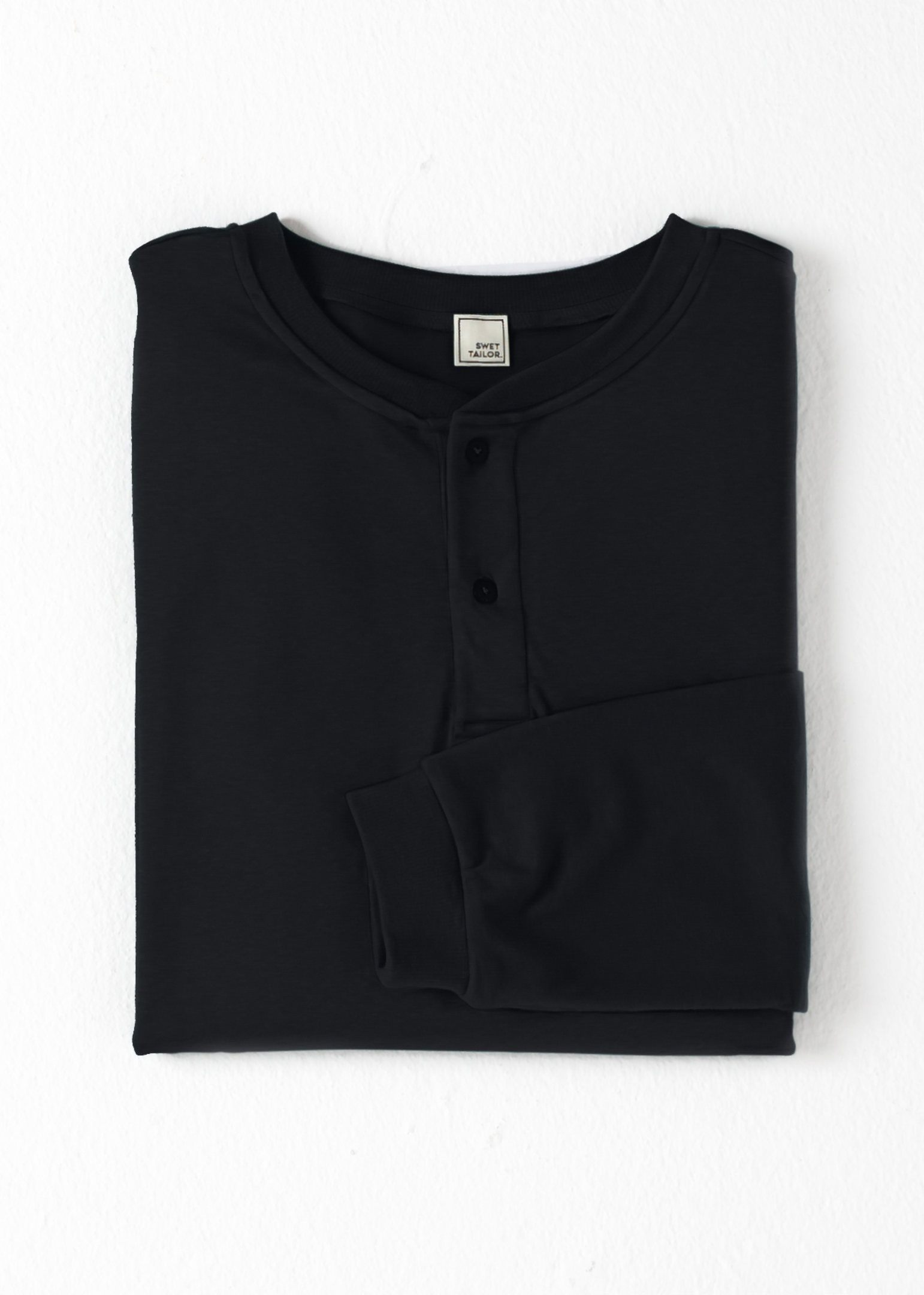 Under/Over Henley | Black