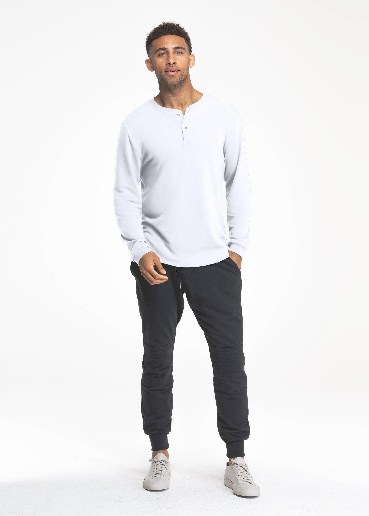 Under/Over Henley | White