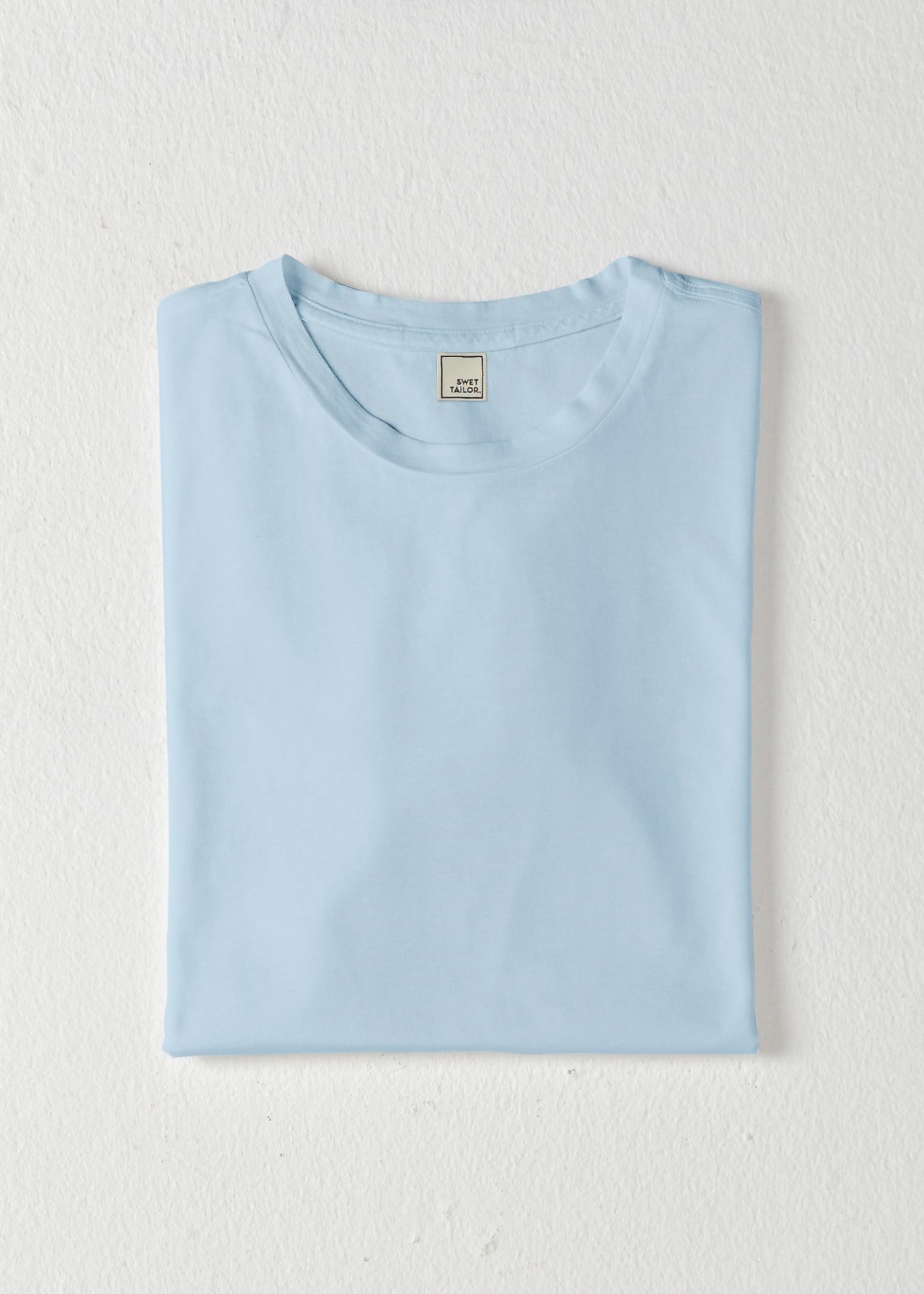 Softest T | Faded Light Blue