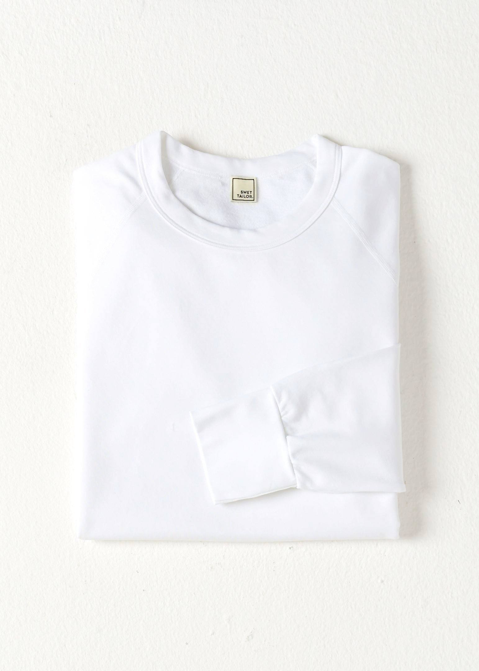 SWET-Shirt | White