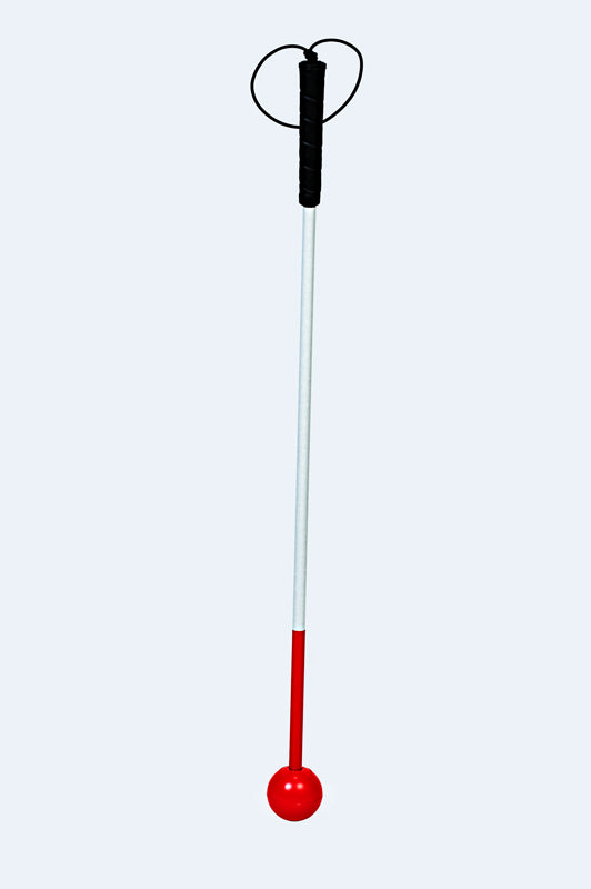 Premium Graphite Mobility Rigid Cane - Standard Handle