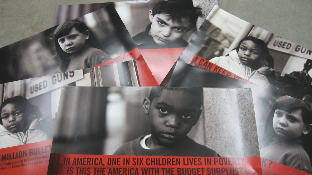 "Set of six ""Why Child?"" Posters"