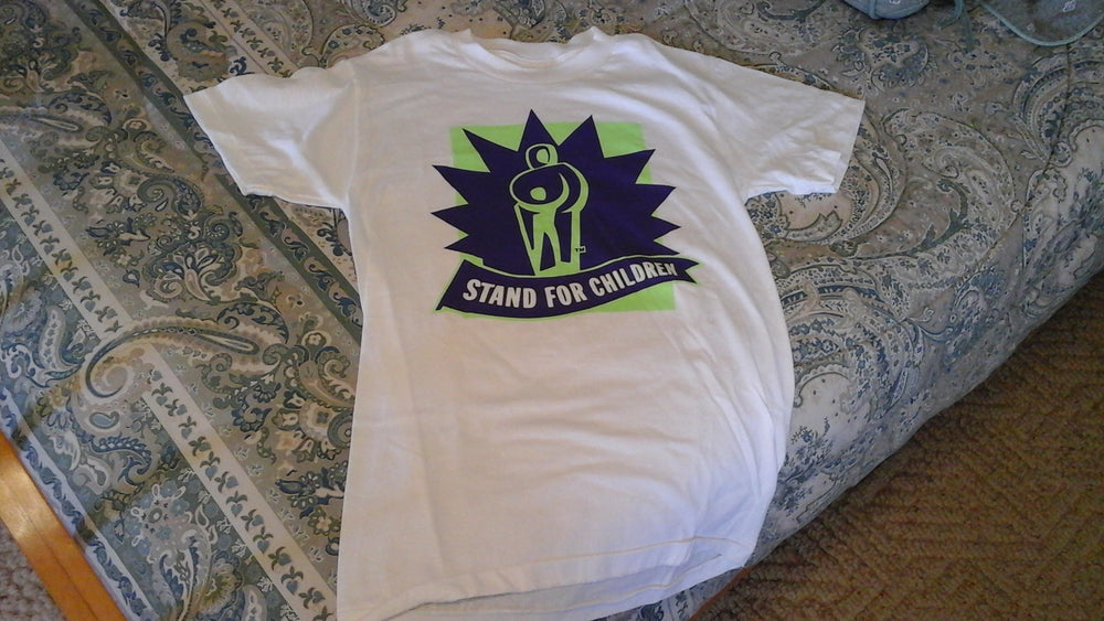 Stand for Children t-shirt in size Adult Small Only