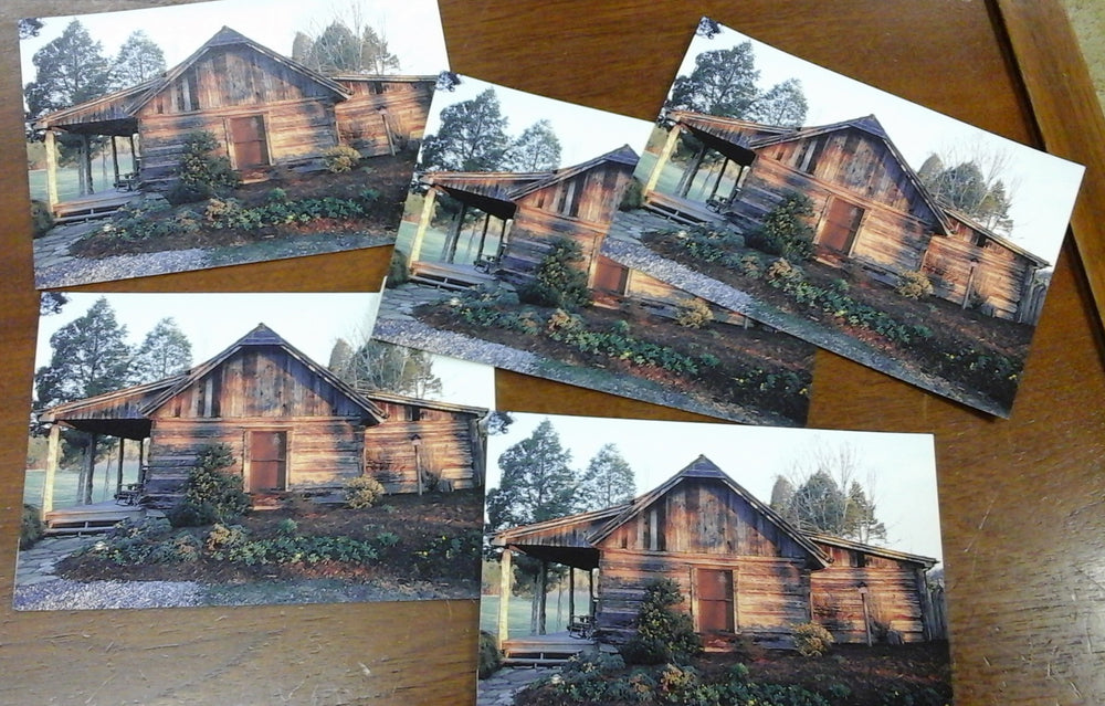 Set of 5 postcards of the Bethune-Height House at CDF Haley Farm