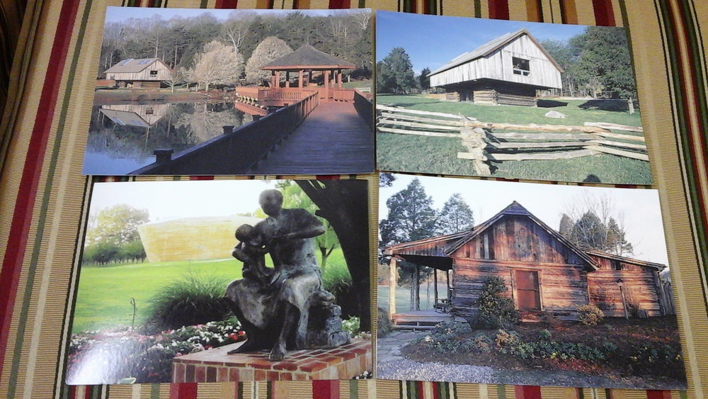 Set of 8 postcards includes two of each of the postcards featuring scenes from CDF Haley Farm
