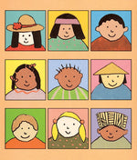 Shining Faces of Children Notecards