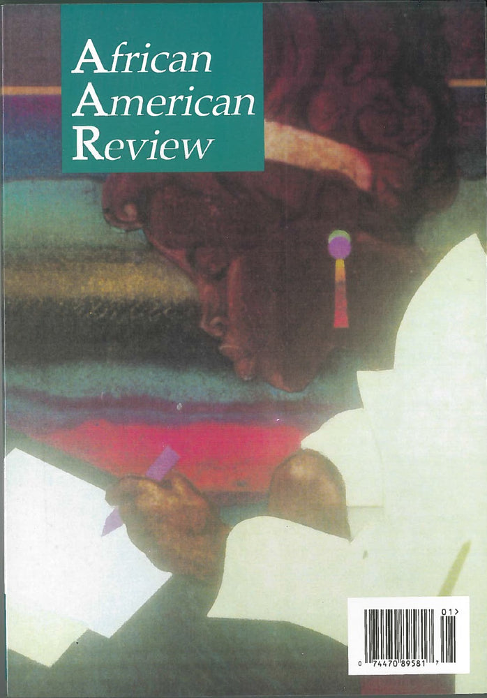 African American Review Volume 32 Number 1: Children's and Young-Adult Literature Issue, editors Dianne Johnson and Catherine E. Lewis