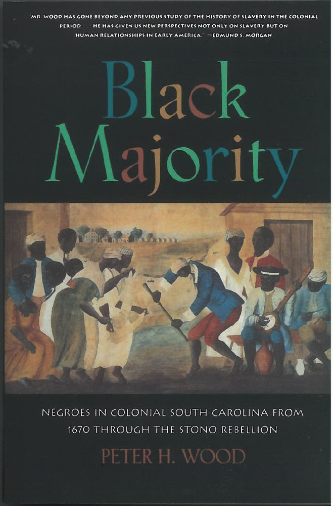 Black Majority by Peter H. Wood