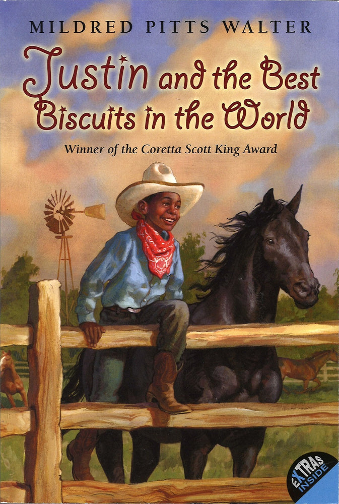 Justin and the Best Biscuits in the World in paperback by Mildred Pitts Walter