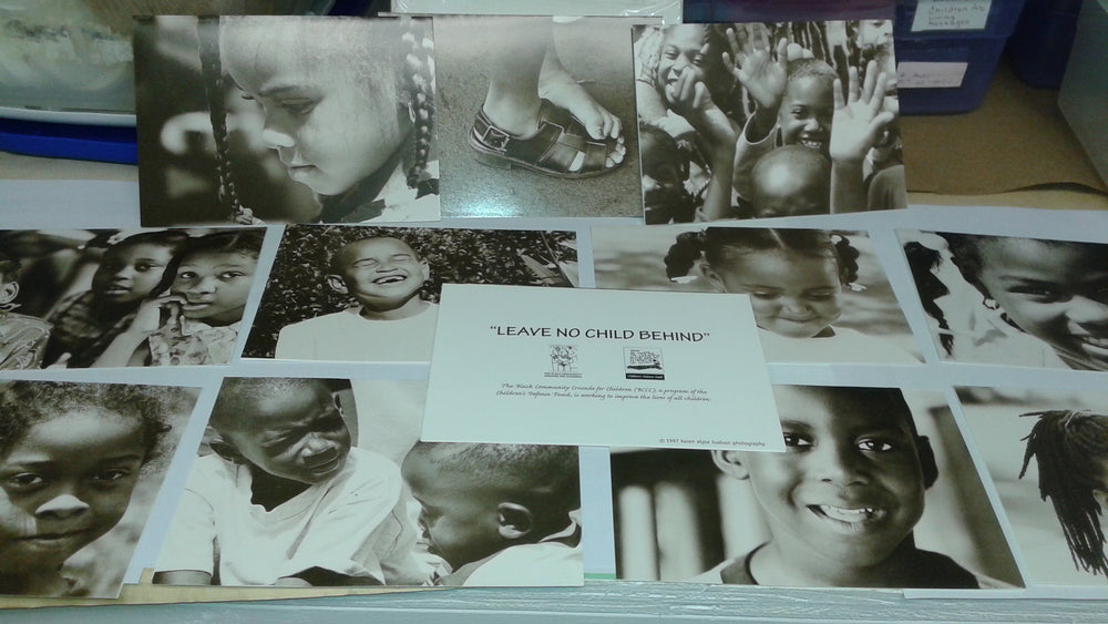 Black Community Crusade for Children Notecards (12 notecards and envelopes)