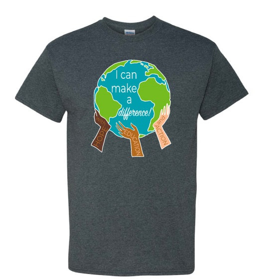 """I Can Make A Difference"" t-shirt"
