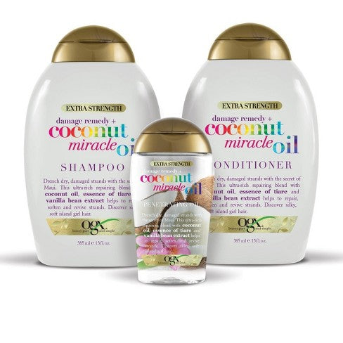 Ogx Coconut Miracle Shampoo | Conditioner | Oil