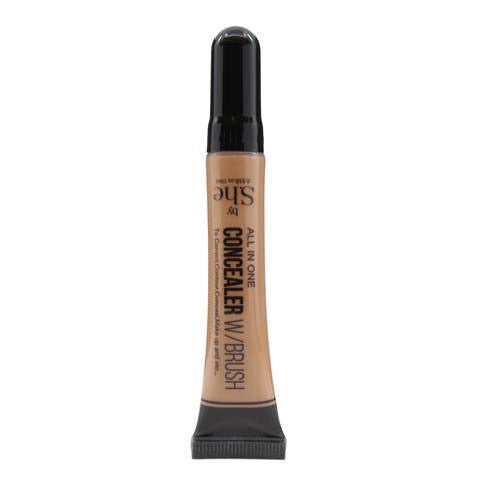 S.he All in One Concealer W/Brush AC01-22 (Dark Brown)