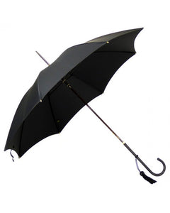 Slim Leather Handle Umbrella