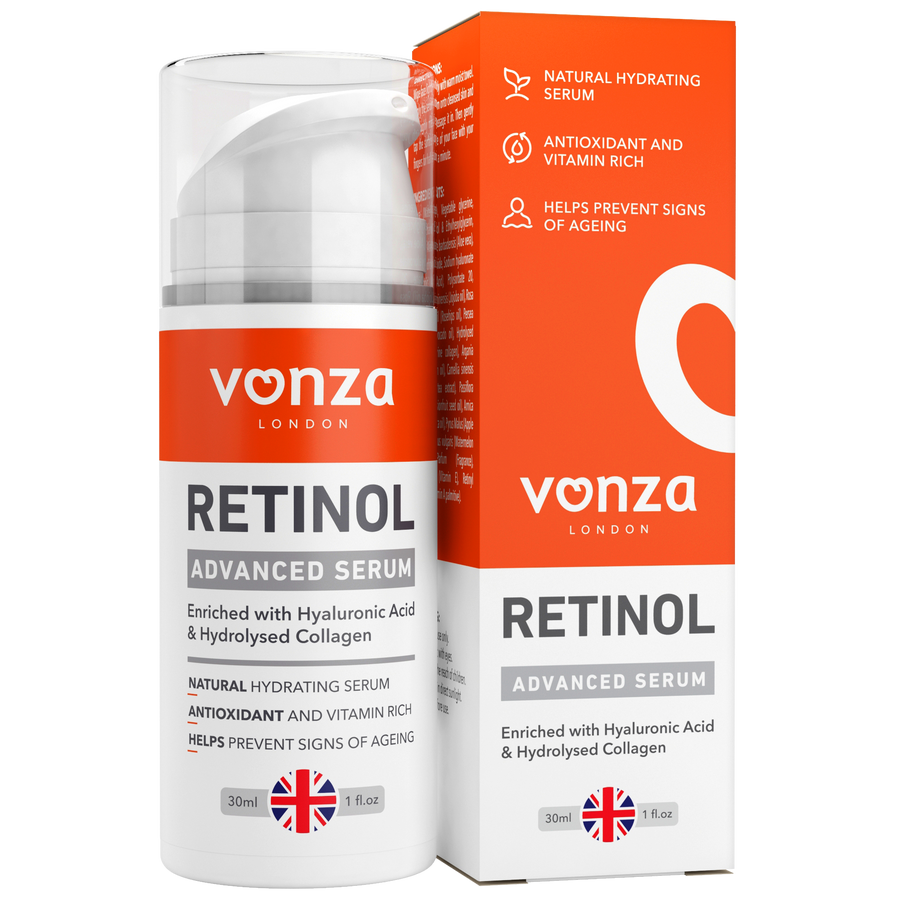 Advanced Retinol Serum with Hyaluronic Acid & Hydrolyzed Collagen