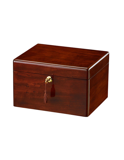 Devotion III - Cherry Chest Cremation Urn