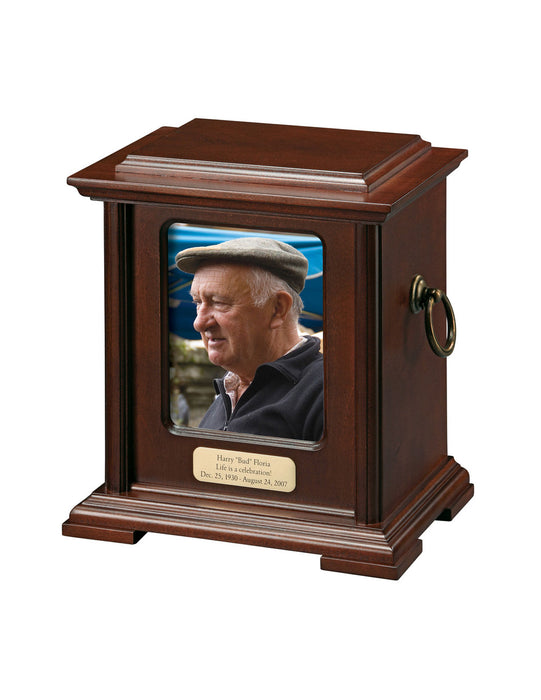 Honor I - Urn w/ Photo Cremation Urn