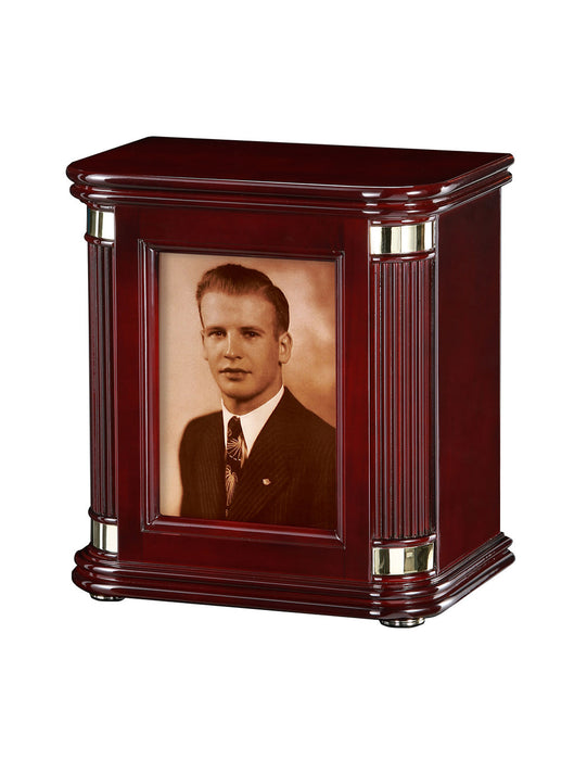 Honor II - High Gloss Photo Cremation Urn