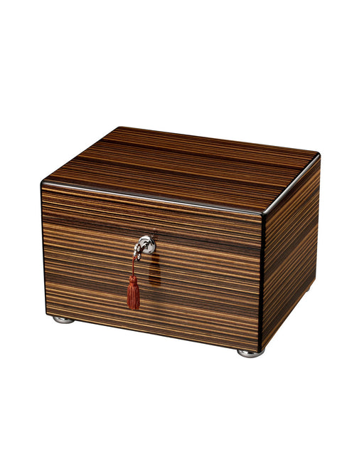 Unity I - Ebony Stripe Chest Cremation Urn