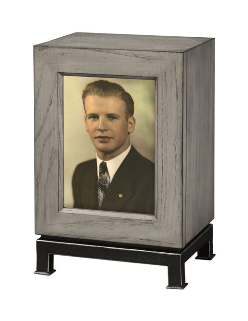 Metro Mantel Photo Cremation Urn