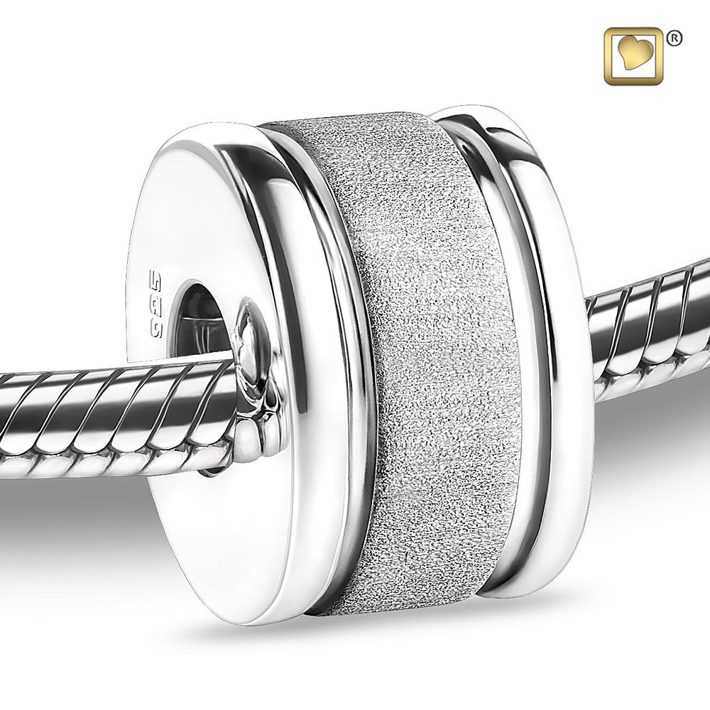 BEAD Omega™ Rhodium Plated Two Tone