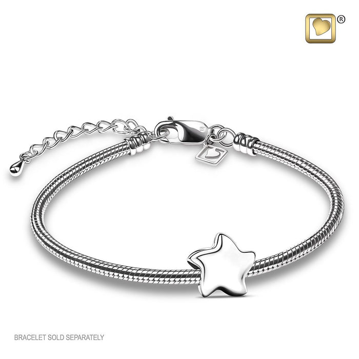 BEAD Angelic Star Silver™ Rhodium Plated
