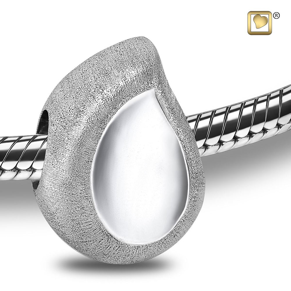 BEAD TearDrop™ Rhodium Plated Two Tone