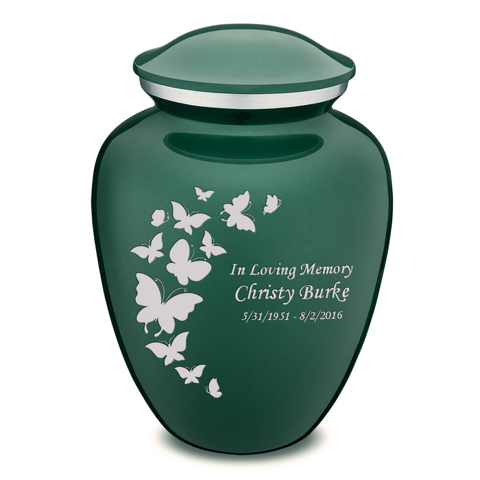 Adult Embrace Butterflies Cremation Urn