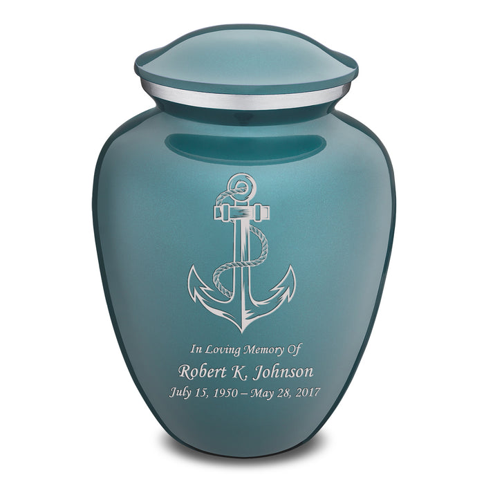 Adult Embrace Anchor Cremation Urn