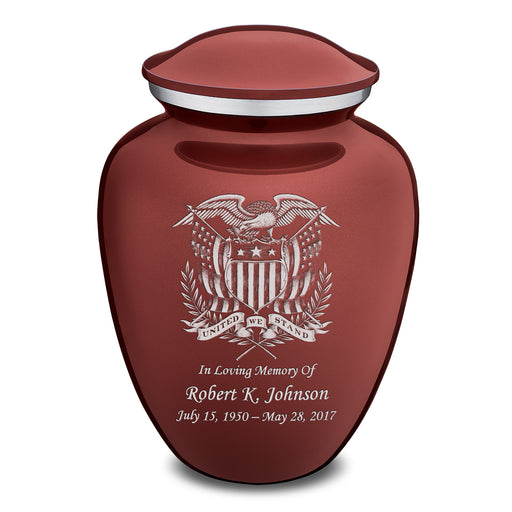 Adult Embrace American Glory Cremation Urn