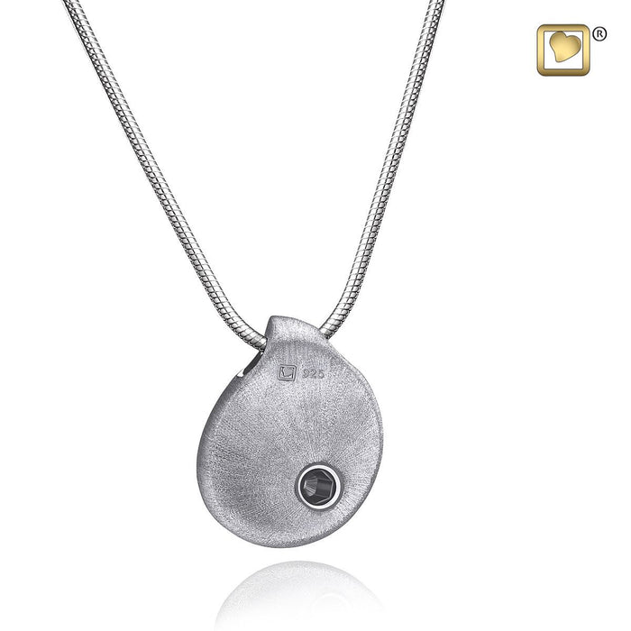 PENDANT TearDrop™ Rhodium Plated Two Tone