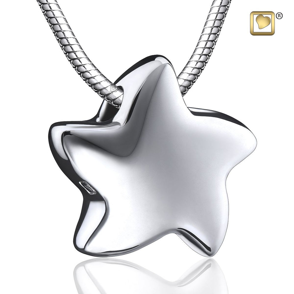 PENDANT Angelic Star™ Rhodium Plated