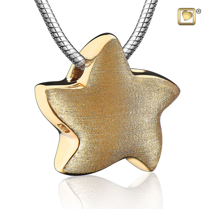 PENDANT Angelic Star™ Gold Vermeil Two Tone