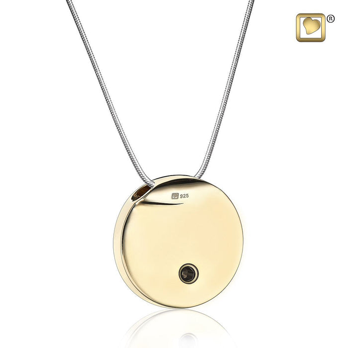 Hammered Gold\u201dEternity\u201d  Circle Of  Life \u201cRing Pendant on a Genuine Adjustable Choker Necklace Couples Necklace Friends Necklace