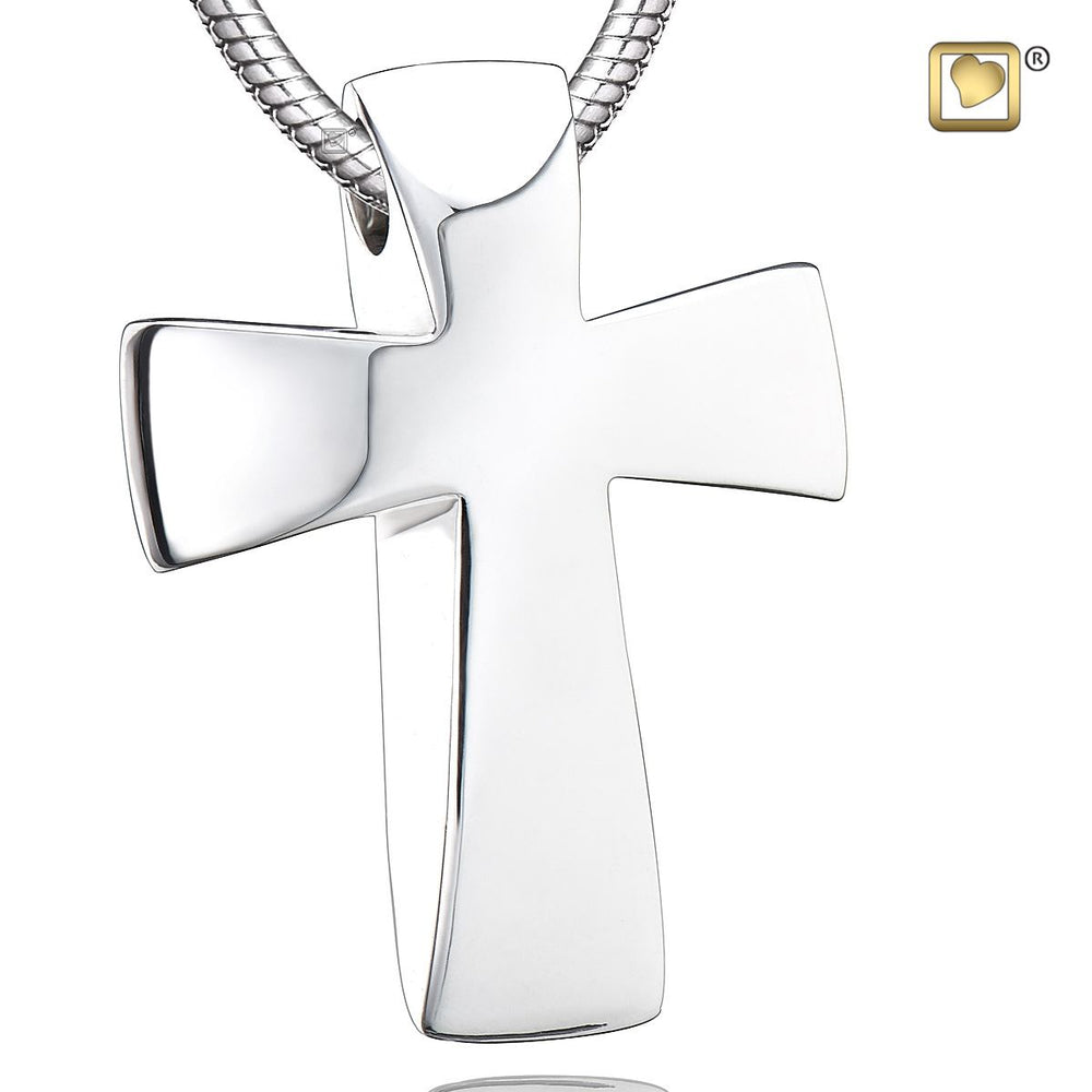 PENDANT Cross™ Rhodium Plated