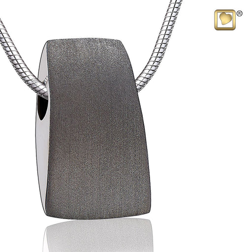 PENDANT Tribute™ Ruthenium Plated Two Tone